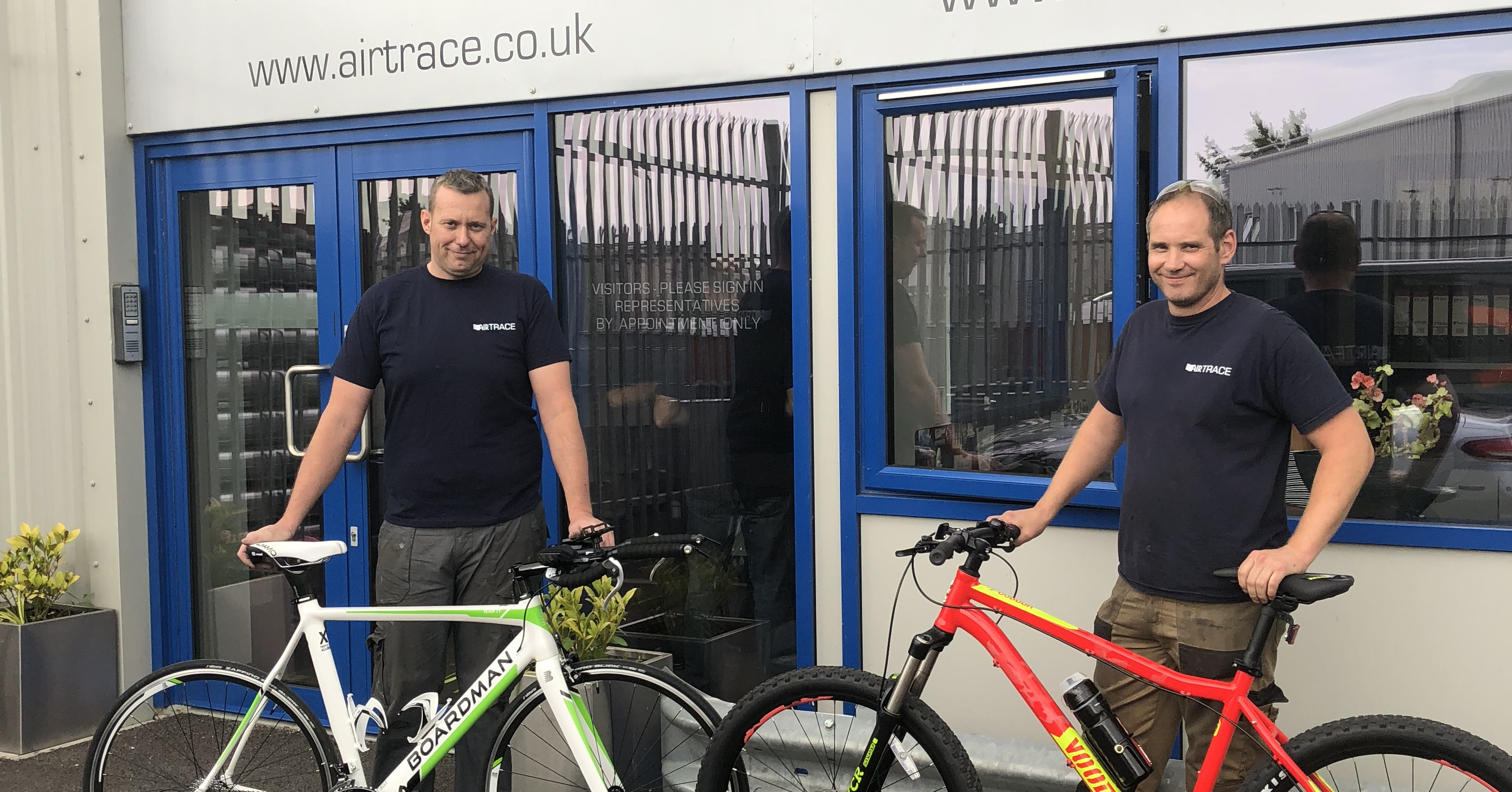 Cycle to Work with Airtrace